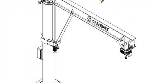 Gembinių kranų specifikacijos nuotrauka 1