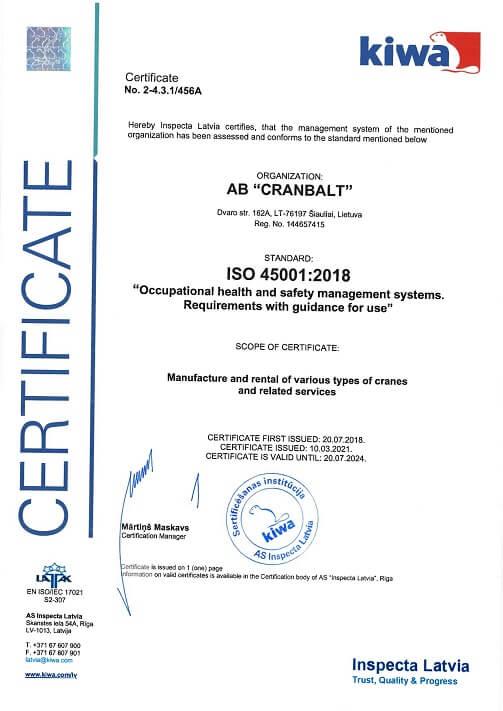 ISO 45001 EN